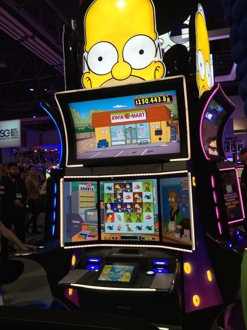 The Simpsons Slot Machine Online
