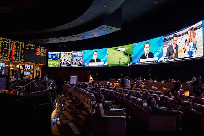 The New Caesars Palace Sports Book
