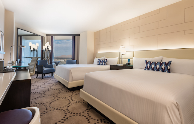 Harrah's Las Vegas Reveals The New Valley Tower Front Desk Tip Stunning Hotel With Separate Bedroom Decor Remodelling