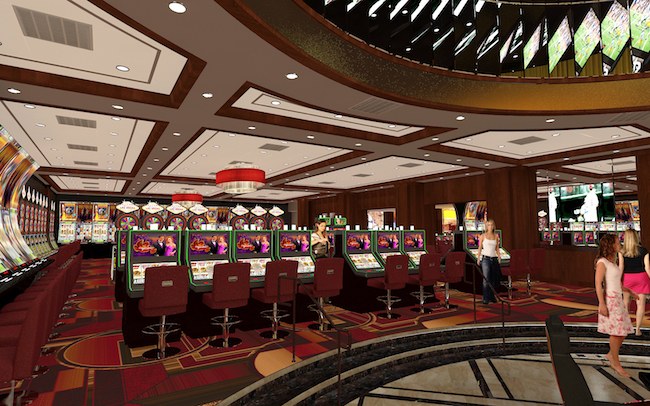 Golden Gate Casino Floor Rendering