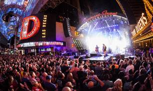 Free Downtown Rocks Concerts At Fremont Street Experience Front
