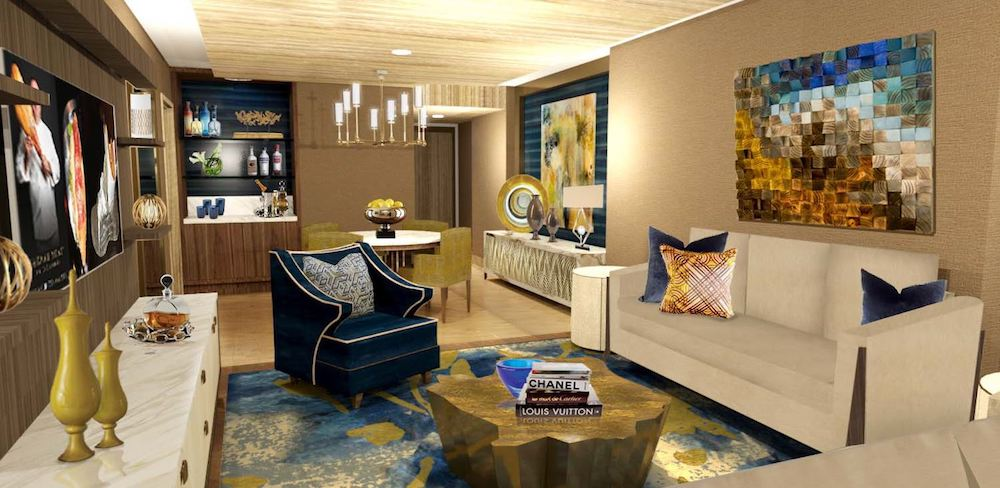 Sahara Las Vegas Grand Sahara Mega Suite